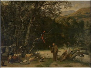 Jan_Siberechts_-_Saint_Francis_Preaching_to_the_Animals