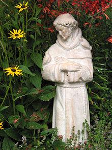 220px-Saint_Francis_statue_in_garden