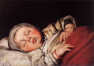 800px-Bernardo_Strozzi_-_Sleeping_Child_-_WGA21930