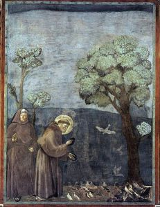 461px-Giotto_di_Bondone_-_Legend_of_St_Francis_-_15._Sermon_to_the_Birds_-_WGA09139